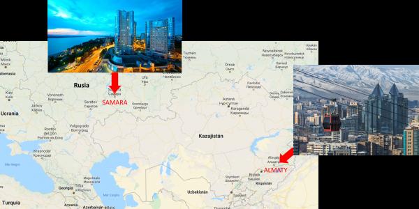 Halaco Group visita en misión comercial Kazahistán y Rusia en Noviembre del 2019